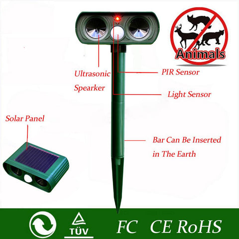 Ultrasonic Solar Pest Control