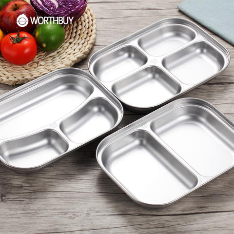 Image of Stainless Steel Lunch Box