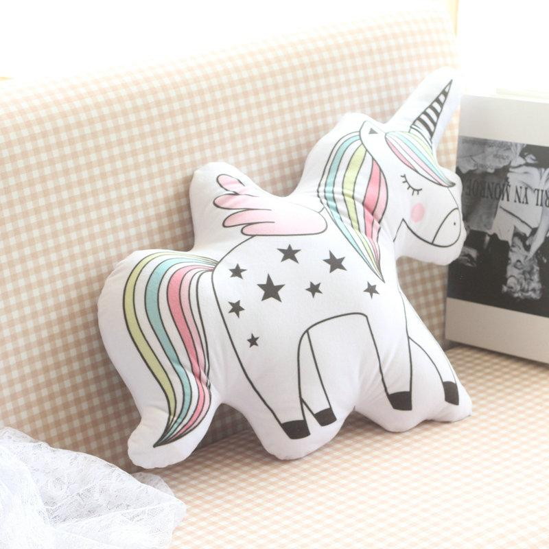 Toy Unicorn Plush Pillow