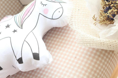 Image of Toy Unicorn Plush Pillow
