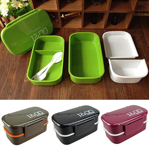 2 Layer Lunch Box (Microwaveable)