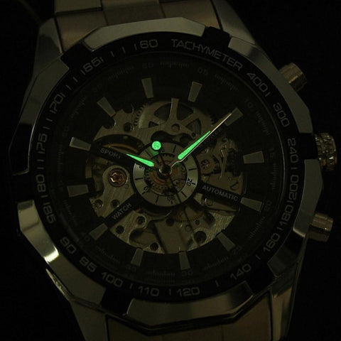 Clockwork Skeleton Watch