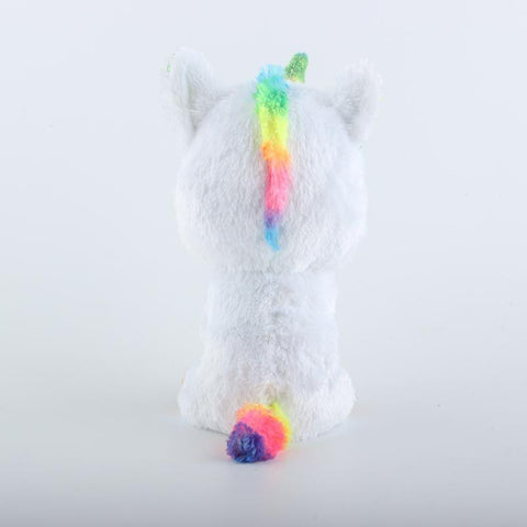 Colorful White Unicorn Toy Doll