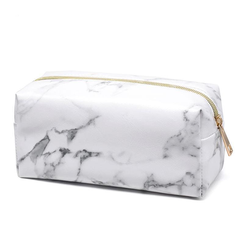 Lux Marble Cosmetic Bag