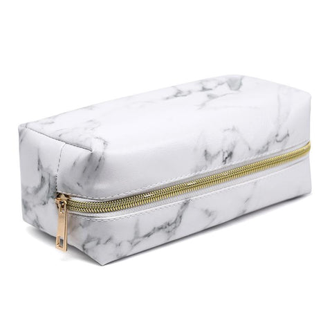 Image of Lux Marble Cosmetic Bag