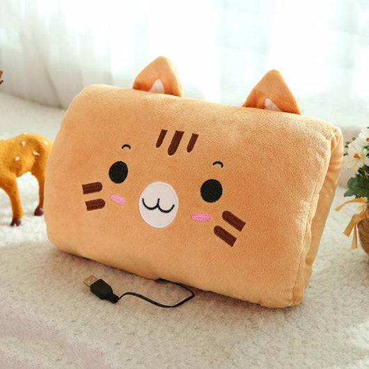 Super Cute Heated Pillow