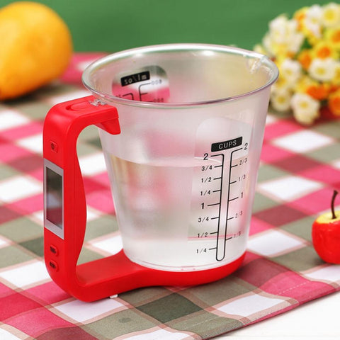 Image of Digital Measuring Cup and Scale