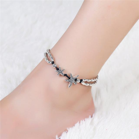 Image of Starfish Charm Anklet