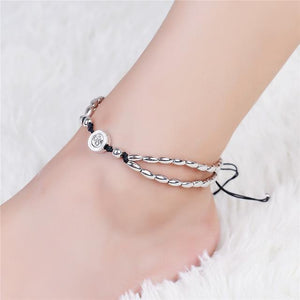 Starfish Charm Anklet