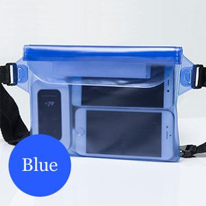 Waterproof Pouch Keeps Everything Dry