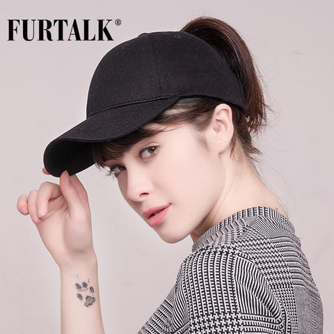 Image of Ponytail Baseball Cap