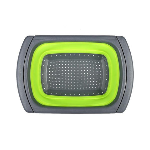 Image of Collapsible Over-The-Sink Strainer Board
