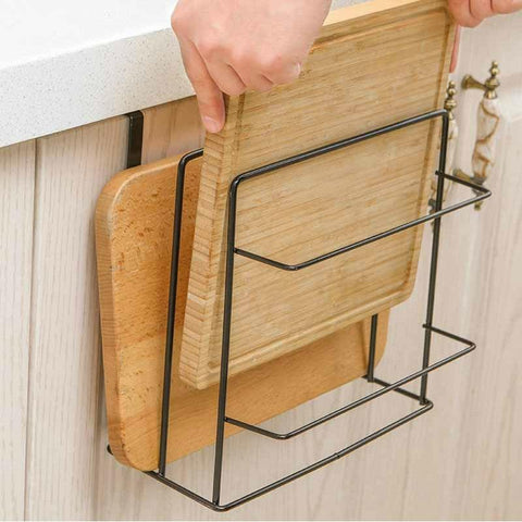 Image of Double Layer Cutting Board Rack