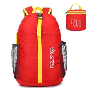 Nylon Folding Backpack