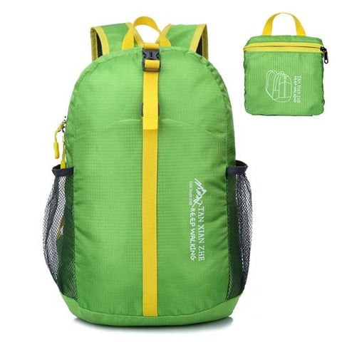 Image of Nylon Folding Backpack