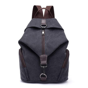 Retro Zipper Backpack