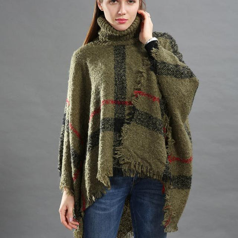 Image of Cozy Poncho Sweater