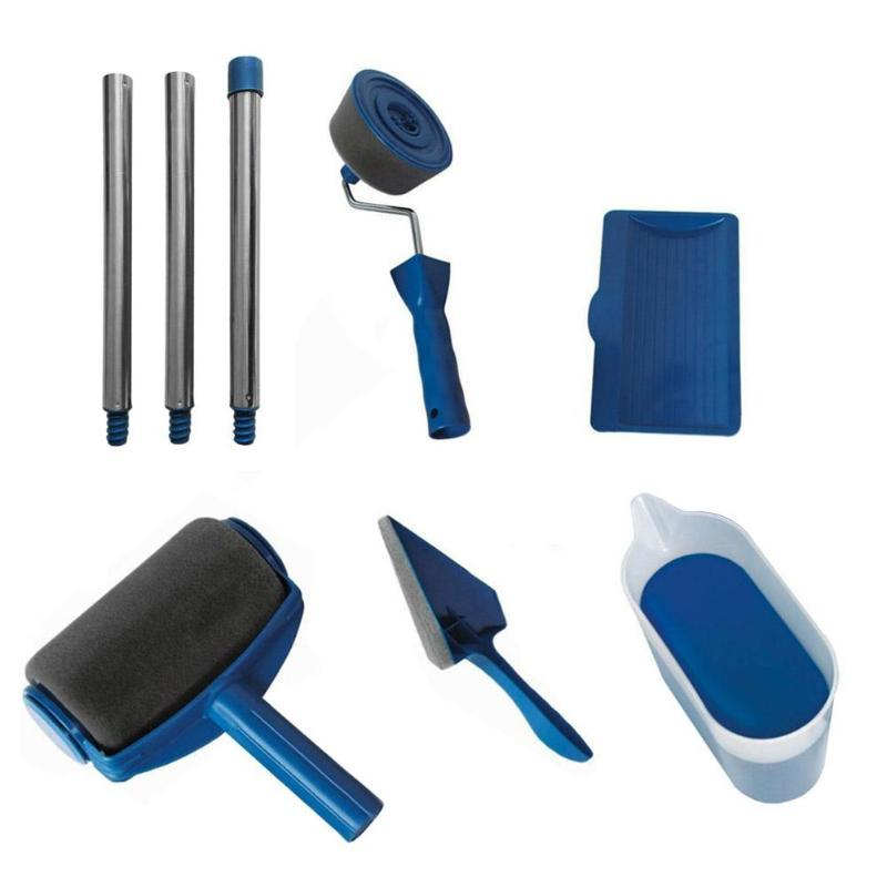 Multi Functional Paint Roller Set - (8Pcs)