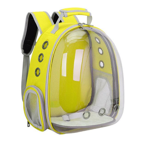 Image of Transparent Pet Backpack