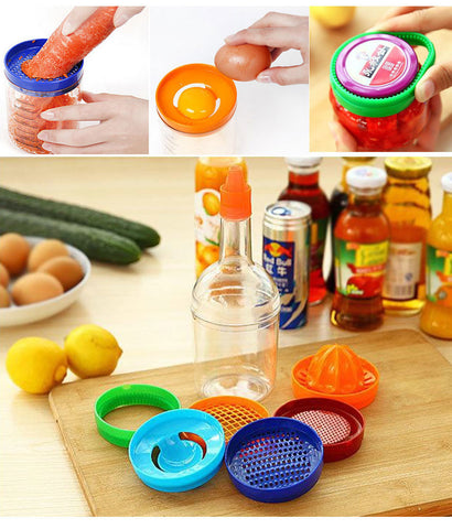 Fruit & Vegetable Tools in a Bottle