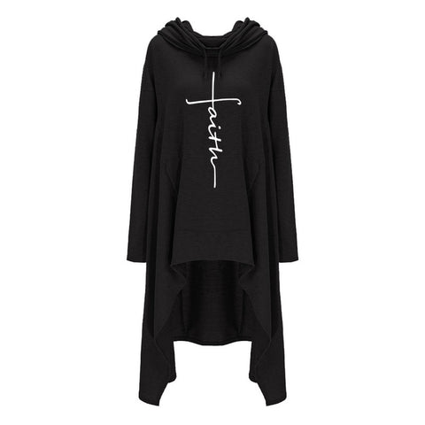 Image of Faith Long Hoodies