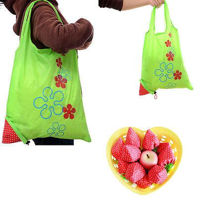 Image of Folding Nylon Grocery Bag