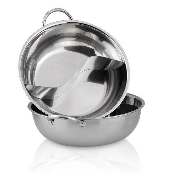 Stainless Steel Dual Cookware