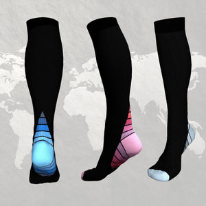 Travel Compression Socks (1 Pair)