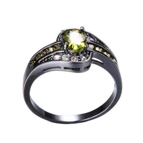 Image of August Birthstone Peridot Ring