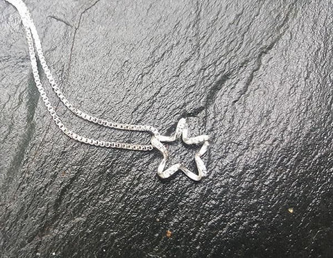 Image of Baby Rhinestone Star Necklace