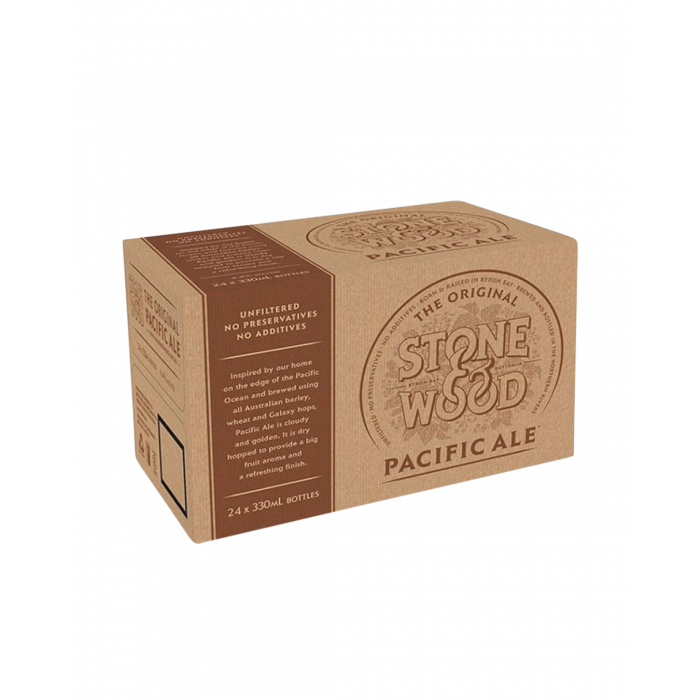 Stone & Wood Pacific Ale Bottles - Carton 24