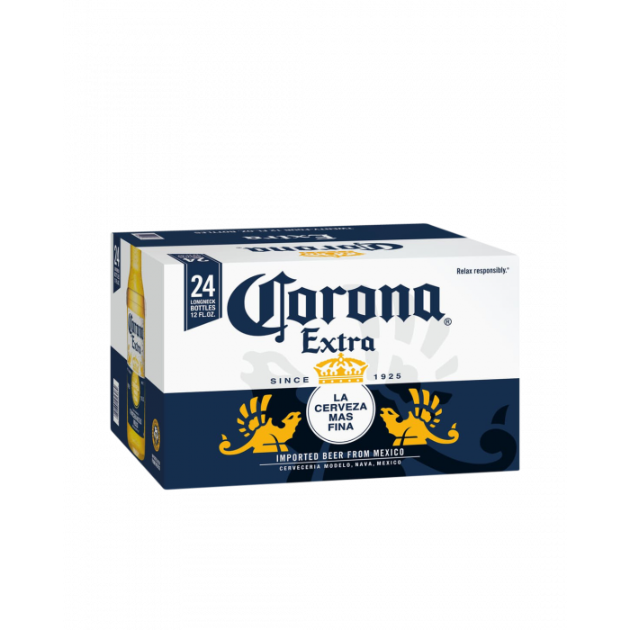 Corona Extra Beer Bottles - Carton 24