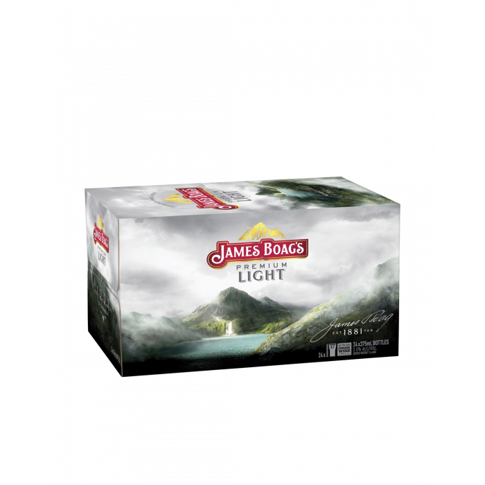 James Boag's Premium Light Bottles - Carton 24