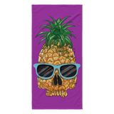 Pineapple Skull Beach Towel - 7 Colors!
