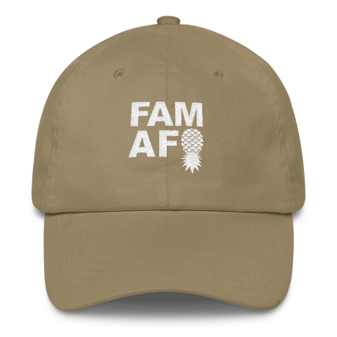 FAM AF OG Logo Embroidered Classic Dad Hat - Multiple Colors