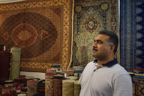 Mubashir Iqbal-The Rug Store Hong Kong