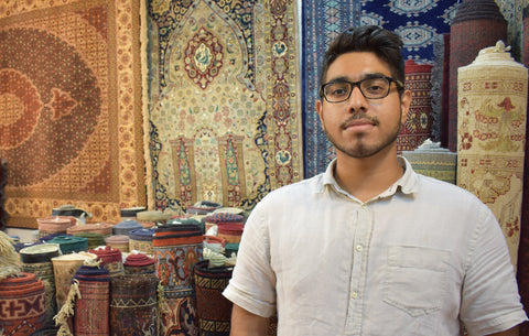Talha Mubashir-The Rug Store Hong Kong