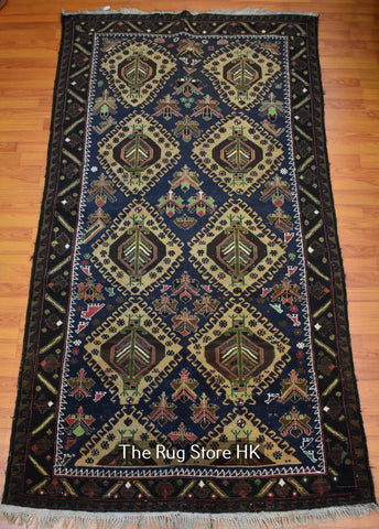 "Persian Turkman 4'5"" x 7' - Buy Handmade Rugs Online 