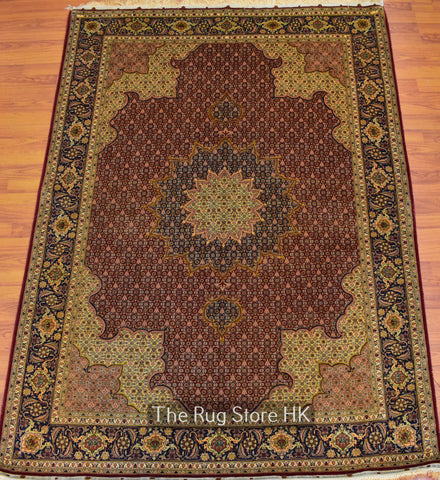 Persian Tabriz Antique 5' x 7' - Buy Handmade Rugs Online | Carpets