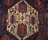 Antique Bakhtiar 4.5' x 7' - Buy Handmade Rugs Online | Carpets