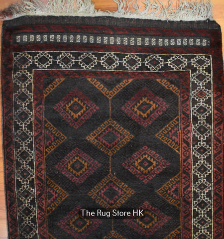 Antique Balochi 2.8' x 10' - Buy Handmade Rugs Online | Carpets
