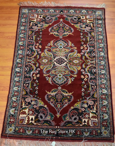 Tribal Kerman 4' x 6' - Buy Handmade Rugs Online | Carpets
