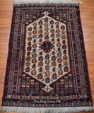 Tribal Mashad 4.5' x 7' - Buy Handmade Rugs Online | Carpets