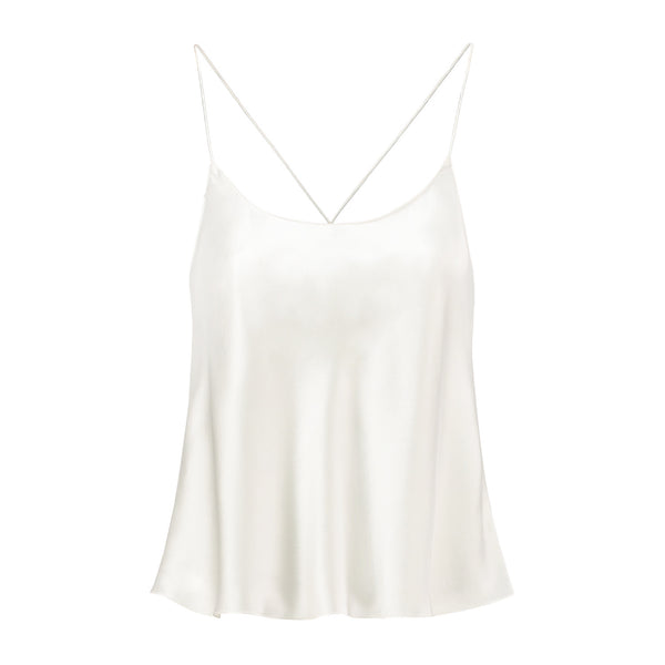 Camisole White Lily Front Side