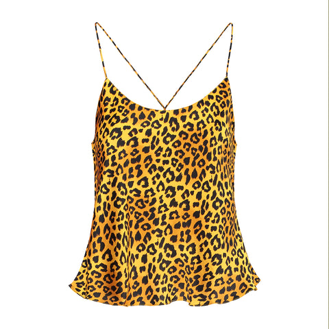 Silk Camisole Panther