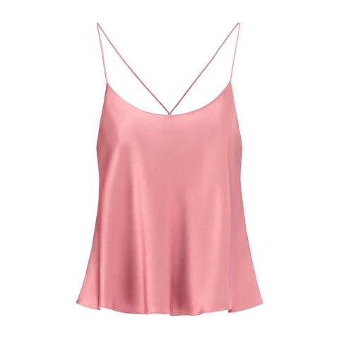 Silk Camisole English Rose