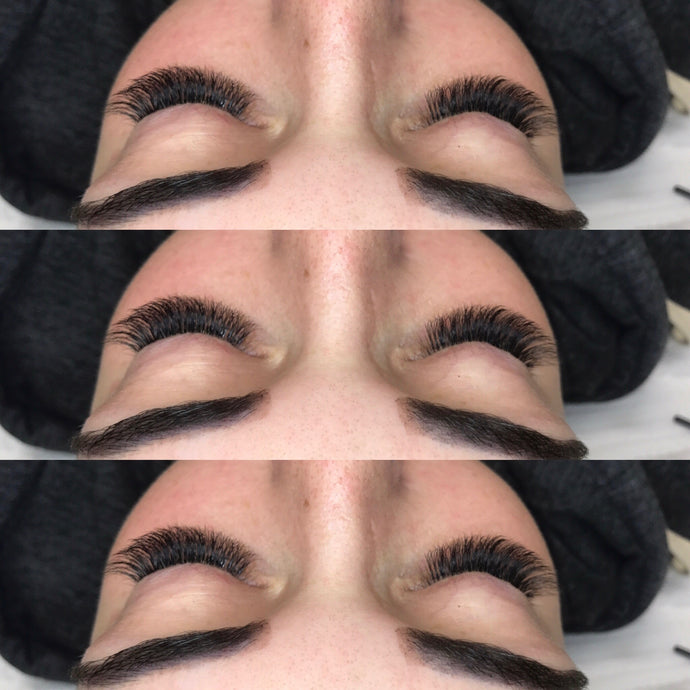 Volume Lashes with a FREE Brow Tint. June 2017