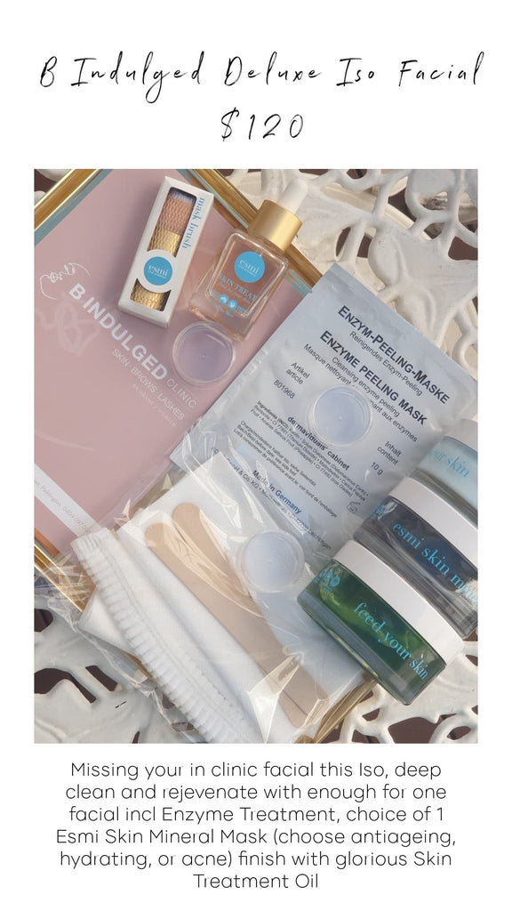 B Indulged Deluxe Home Facial Kit