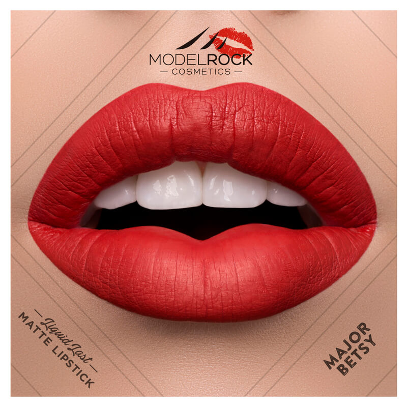 Model Rock - Liquid to Matte Longwear Lipstick **MAJOR BETSY**