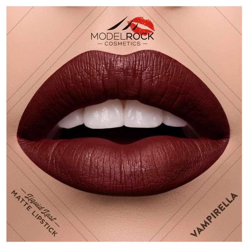 Model Rock - Liquid to Matte Longwear Lipstick **VAMPIRELLA**